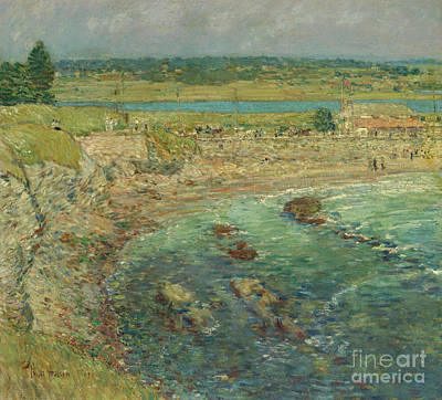 Painting - Bailey's Beach  Newport  Rhode Island by Childe Hassam