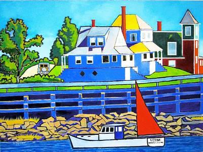 Bailey's Island Original by Nicholas Martori