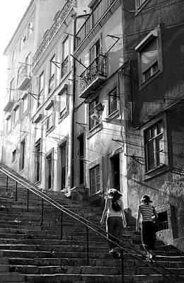Photograph - Bairro Da Bica by Carlos Caetano