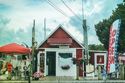 Photograph - Bait And Tackle Shop by Colleen Kammerer