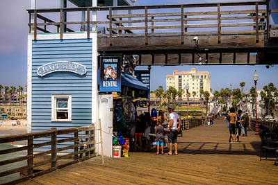 Photograph - Bait Shop by Bryant Coffey
