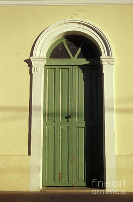 Photograph - Baja Door Todos Santos Mexico by John  Mitchell