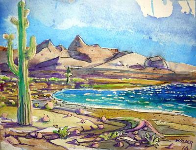 Painting - Baja by Steven Holder
