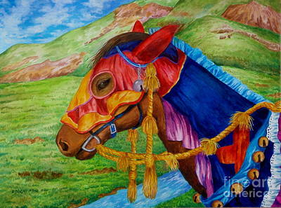 Painting - Bajau Horse by Edoen Kang