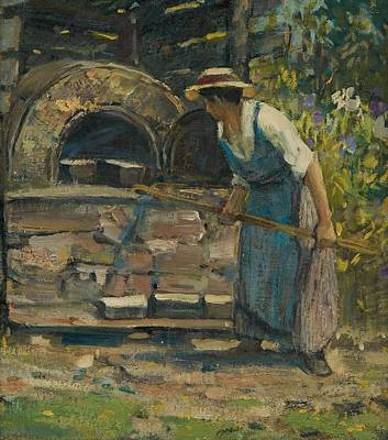 Ethereal - Bake Oven by Peleg Franklin Brownell by Peleg Franklin Brownell