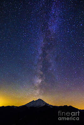 Photograph - Baker And The Milky Way by Sonya Lang