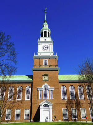 Photograph - Baker Hall - Dartmouth College by Wikimediaimages