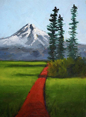 Painting - Baker Meadow by Nancy Merkle