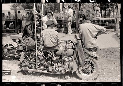 Digital Art - Baker Motorcycle Club by Gary Grayson