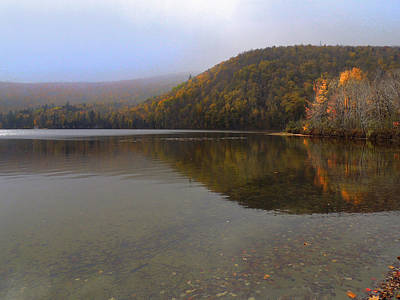 Photograph - Baker Pond In Orford New Hampshire by Nancy Griswold