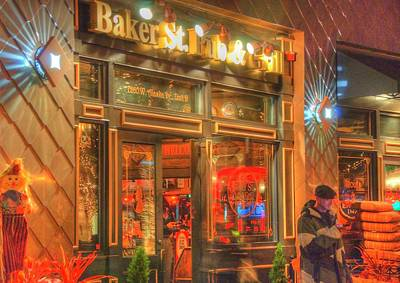 Photograph - Baker Street Pub by Jerry Sodorff
