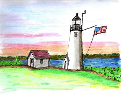 Bakers Island Art Print