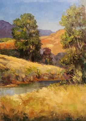 Painting - Bakesfield Creek Afternoon by Jessica Anne Thomas