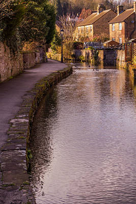 Photograph - Bakewell Brook by Andy Readman