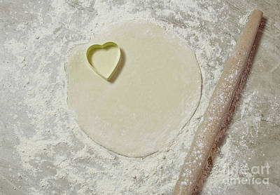 Photograph - Baking Heart by Liz Masoner