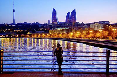 Photograph - Baku Pier by Fabrizio Troiani