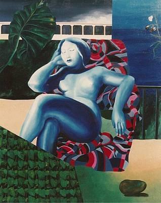 Painting - Bakua by Ksenia Milicevic