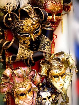 Bal Masque Art Print by Roberto Alamino