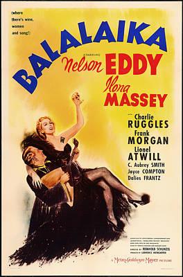 Old Hollywood Mixed Media - Balalaika 1939 by Mountain Dreams