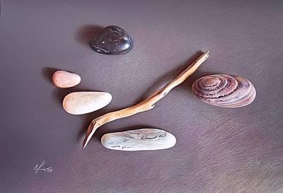 Balance 2 Art Print by Elena Kolotusha