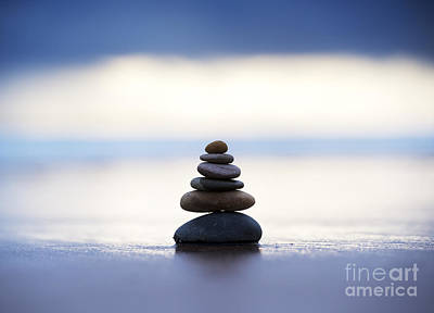 Balance And Calm Print by Tim Gainey