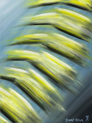 Spines Painting - Balance by Brent Buss