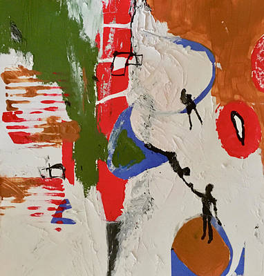 Painting - Balance by Carole Johnson