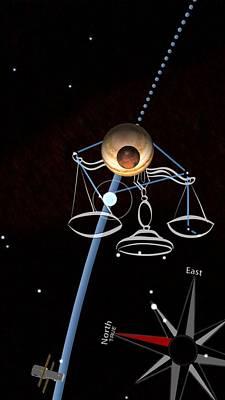 Photograph - Balance Constellation - Live Capture by Tatiana Travelways