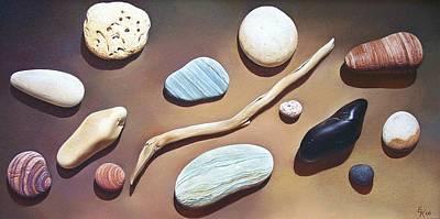 Painting - Balance by Elena Kolotusha