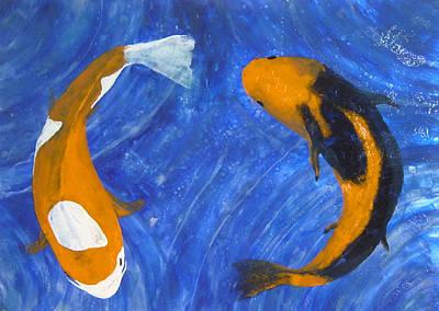 Painting - Balance by Ellen Beauregard