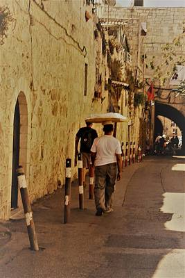 Photograph - Balance In Jerusalem  by Julie Alison