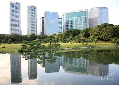 Photograph - Balance In Tokyo by Carol Groenen