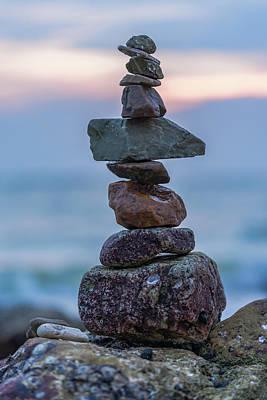 Balance. Art Print
