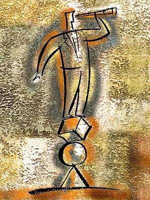 Painting - Balance by Leon Zernitsky