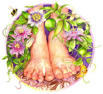 Painting - Balance Mandala by Sigrid Tidmore