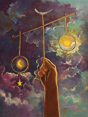 Painting - Balance Of God by Randy Burns