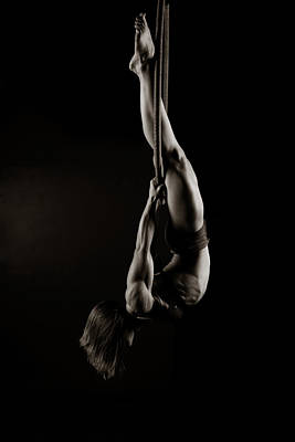 Gymnast Photograph - Balance Of Power 11 by Monte Arnold
