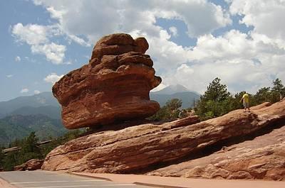 Photograph - Balance Rock by Anita Burgermeister