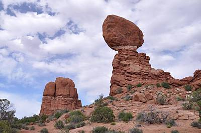 Photograph - Balance Rock Another View by Frank Madia