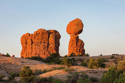 Photograph - Balanced Rock In The Morning by Kyle Lee