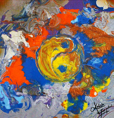 Painting - Balanced by Artista Elisabet