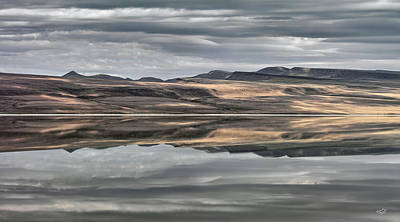 Photograph - Balanced Reflection by Leland D Howard