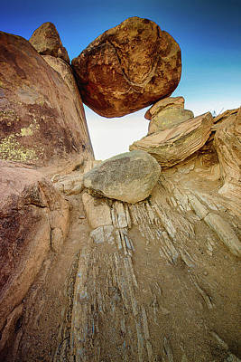 Photograph - Balanced Rock by Allen Biedrzycki