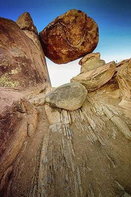 Photograph - Balanced Rock by Allen Biedrzycki
