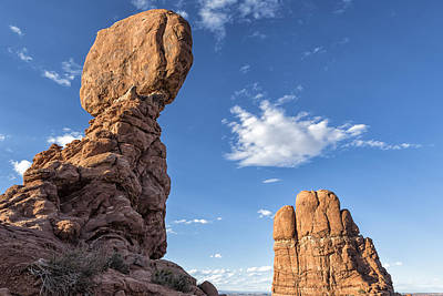 Photograph - Balanced Rock - Arches National Park by Belinda Greb