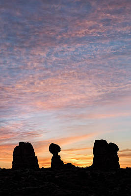 Photograph - Balanced Rock At Sunrise by Denise Bush