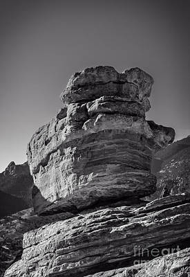 Balanced Rock Art Print by Charles Dobbs