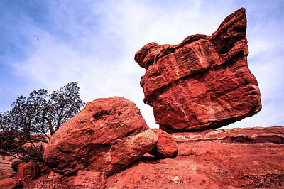 Photograph - Balanced Rock - Garden Of The Gods - Colorado Springs by Gregory Ballos