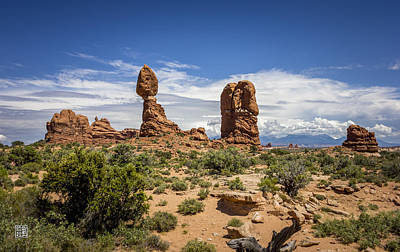 Photograph - Balanced Rock by Geoffrey Lewis