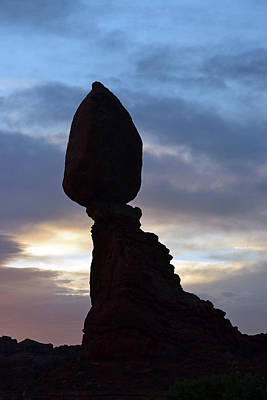 Photograph - Balanced Rock No. 32-1 by Sandy Taylor